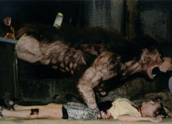 I worked on the ´An american werewolf in Paris` movie...