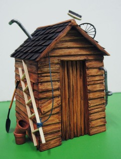 Miniature shed with animated roof for a Disney XD film, directed by 'HeyHeyHey' at Post Panic