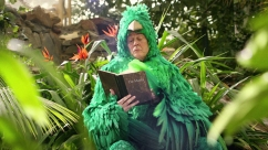 The 'mr. wings' costume I created for an international campaign for center parcs, directed by Johan Kramer at Halal.